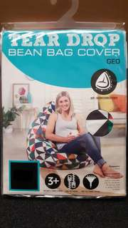 Living Space Geo Cotton Bean Bag Cover