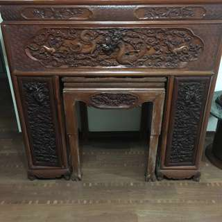 Solid Wood Altar Table