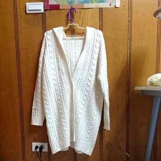 GU羊毛開襟衫