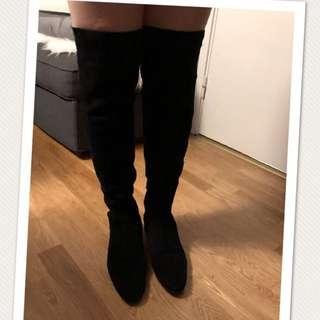 Zara long boots