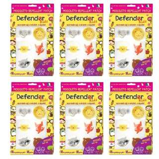 Defender Kids Mosquitoes Repellent Patch ( 6 Packs )