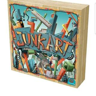 Junk Art Brand New Board Game