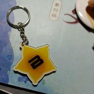 BIGBANG皇冠燈鎖匙扣