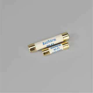 Aucharm Audiophile Alloy Slow Blow fuses (5X20mm and 6X32mm)