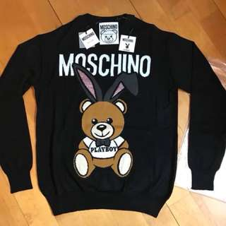 Moschino 最新款Playboy Sweater