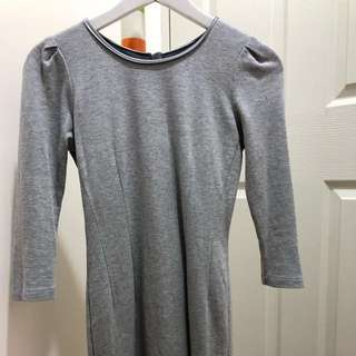 GG5 Grey Fitted Dress