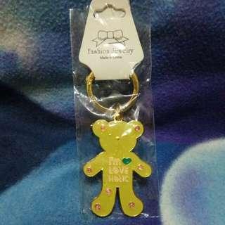 🚚 l'm LOVE HOLIC熊熊鑰匙圈