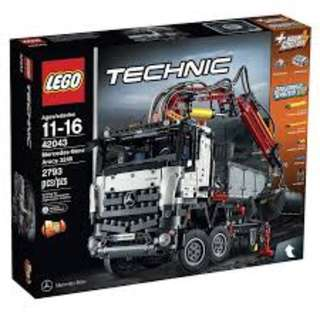 LEGO 42043 Technic Mercedes-Benz Arocs 3245 Now $299 (Was $359)