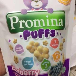 Promina puff blueberry