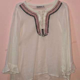 Cotton On boho shirt