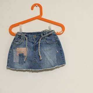 🚚 ZARA女嬰/牛仔短褲