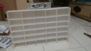 Hotwheels display shelf
