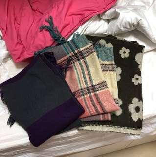 圍巾 100%new  $10/1