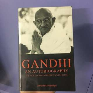 Gandhi : An Autobiography (The story of my experiments with truth)
