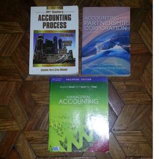 College Accounting Books For Sale