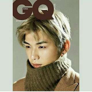 GQ KOREA JANUARY 2018 [ COVER :KANG DANIEL ]
