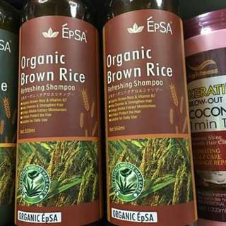 EPSA Organic Shampoo/Conditioner
