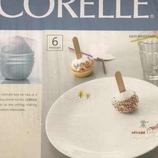 Corelle 6pcs set