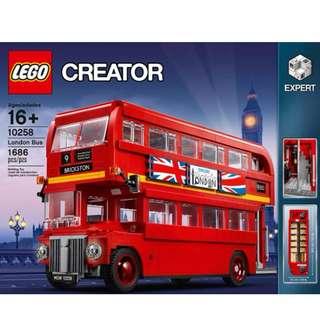 Lego Creator Expert London Bus #10258 ( last 4 )