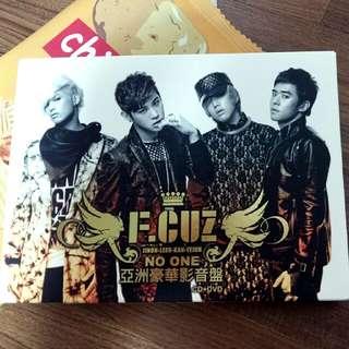 F.CUZ亞洲豪華影音盤/NO ONE/韓團