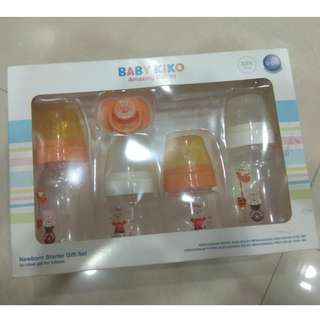BABY KIKO NEWBORN BOTTLE STARTER GIFT SET