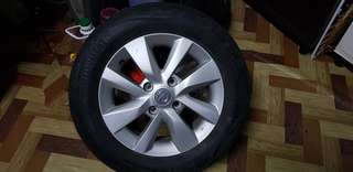 Sport Rim Original Grand Livina with Tyre