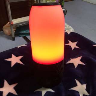 Bluetooth speaker led light runing