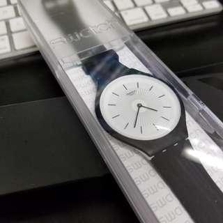 Swatch Skin 黑色手錶