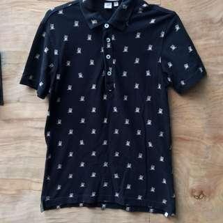 Uniqlo Black Polo Shirt