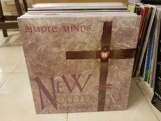 Simple Minds New Gold Dream Vinyl LP Sealed