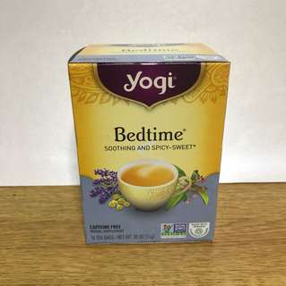 Yogi Bedtime soothing and spicy-sweet 16 tea bags