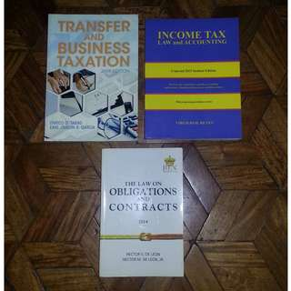 College Books for Taxation & Law