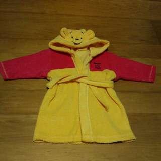 Pre-loved Winnie the Pooh bath robe