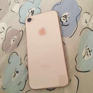極新Iphone 8 256gb 玫瑰金