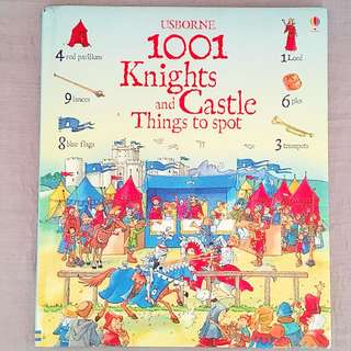 Usborne 1001 Knights and Castles Things to Spot