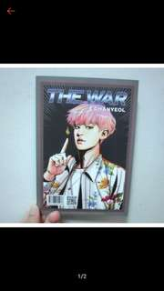 🚚 EXO正規四輯「The War」A版韓壓燦烈小卡