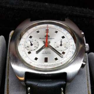 bucherer vintage chronograph manual winding