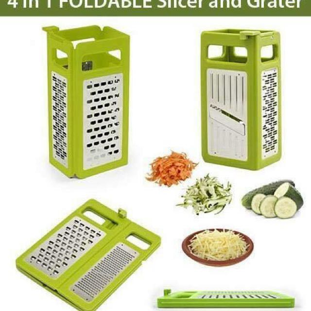 4-in-1 Foldable Grater