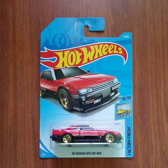 '82 Nissan Skyline R30 Hotwheels