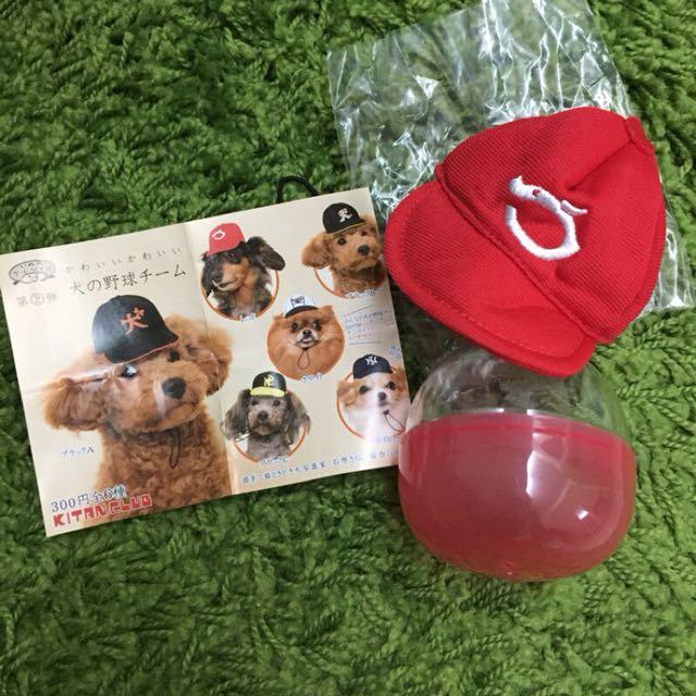 狗狗扭蛋⚾️棒球帽