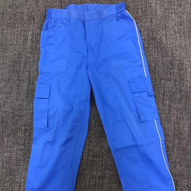 寶藍工作褲