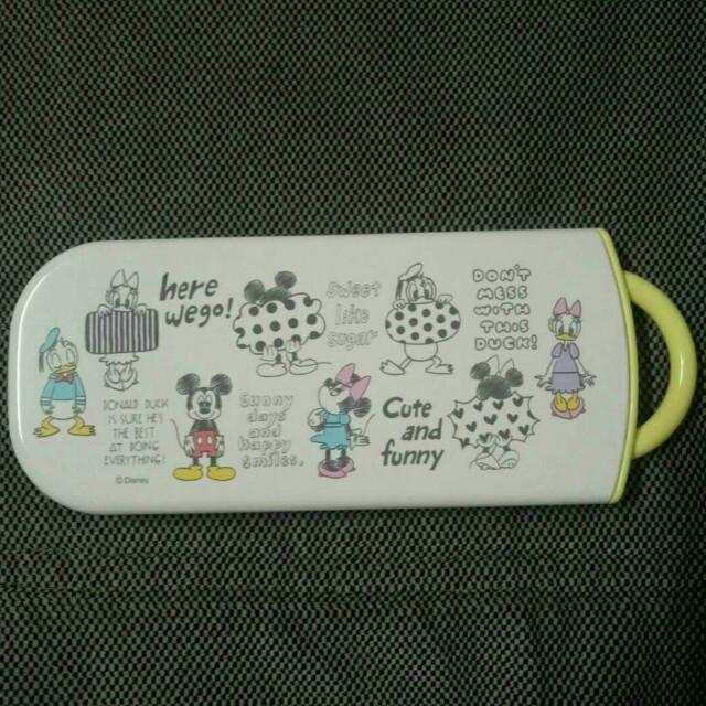 日本迪士尼 餐具組