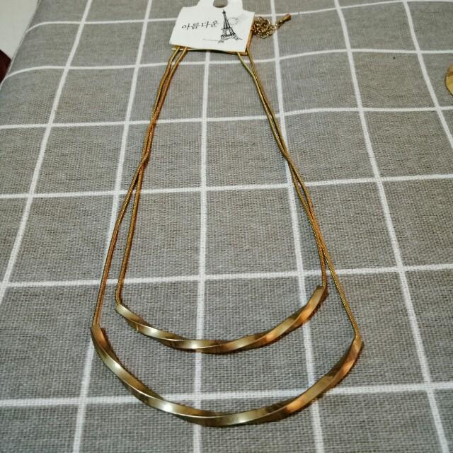 韓國飾品 項鏈