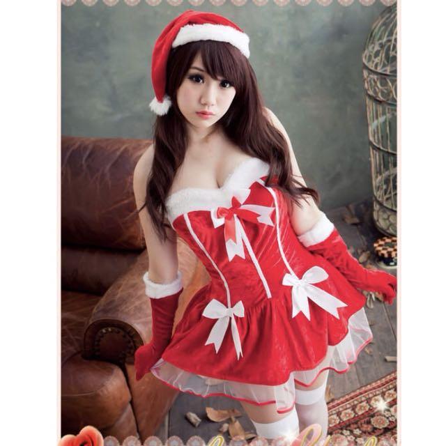 聖誕裝 聖誕節 角色扮演 制服 派對 洋裝
