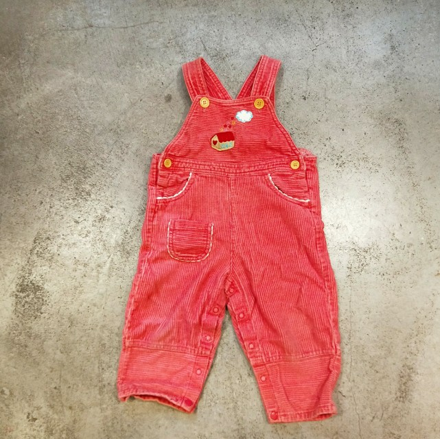 日本 古著 小孩 幼兒 嬰兒衣服 連身衣 吊帶褲 套裝 可愛