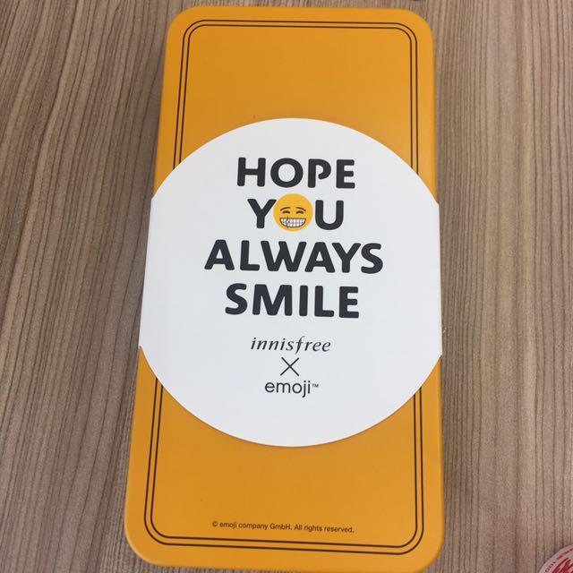 韓國 innisfree emoji 表情符號 聯名 手拿鏡
