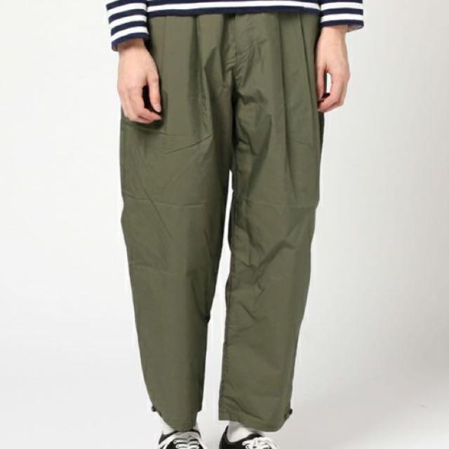 出清 特價M2SQUARED Olive Pants 九分褲 橄欖綠
