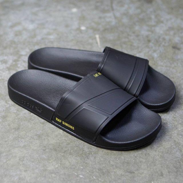 21e04af556b5 STEAL  Adidas x Raf Simons Adilette Bunny Sandals
