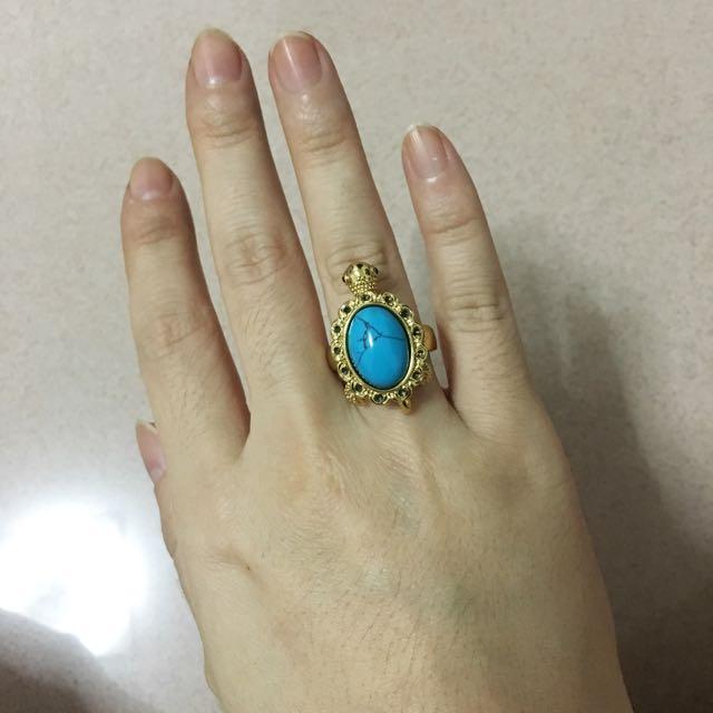 💜 Turtle Ring