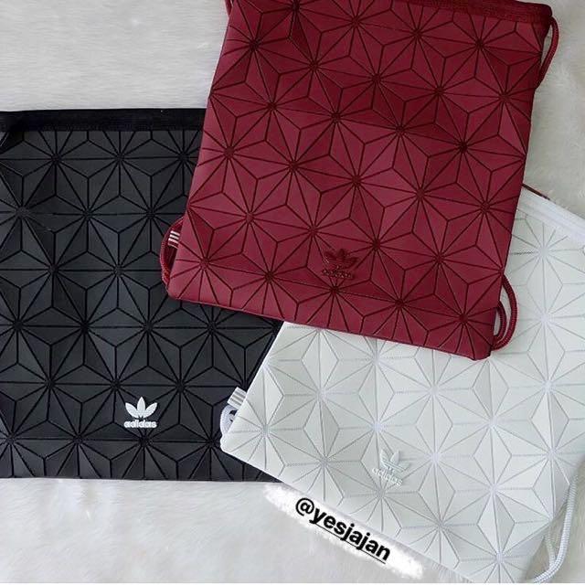 Adidas 3D Gym Bag x Baobao bag issey miyake